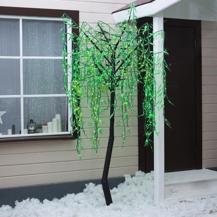 "Дерево светодиодное улич. 2 м. ""Плакучая Ива"" 1152Led, 70W, 220V Белый"