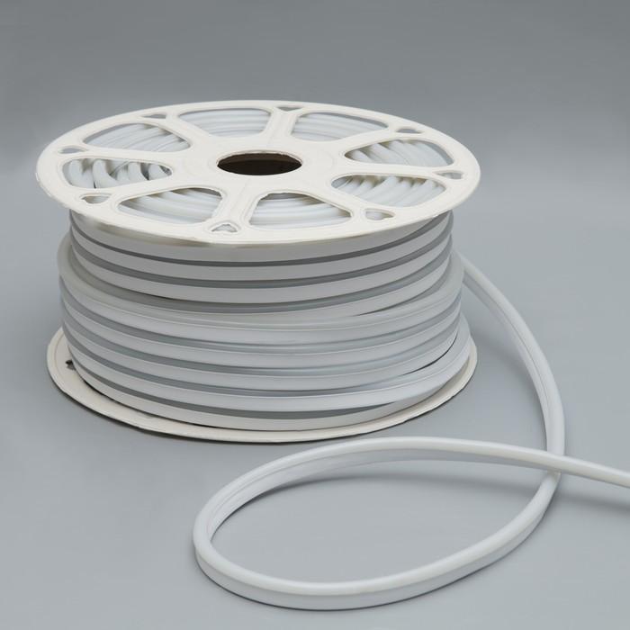 Гибкий неон, 8х16 мм, 50 м, LED/м-120-SMD2835-24V, ЖЕЛТЫЙ