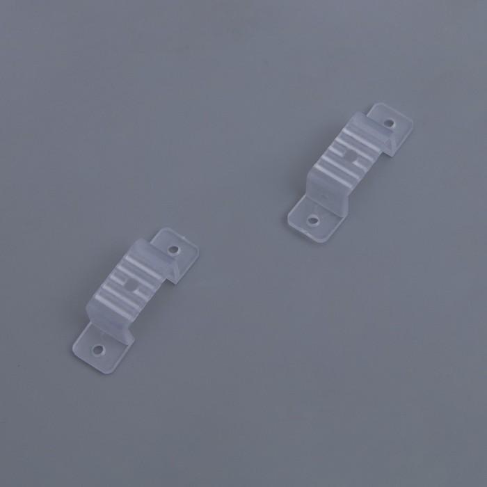 Клипса монтажная для неона 8 х 18 мм, 100 шт