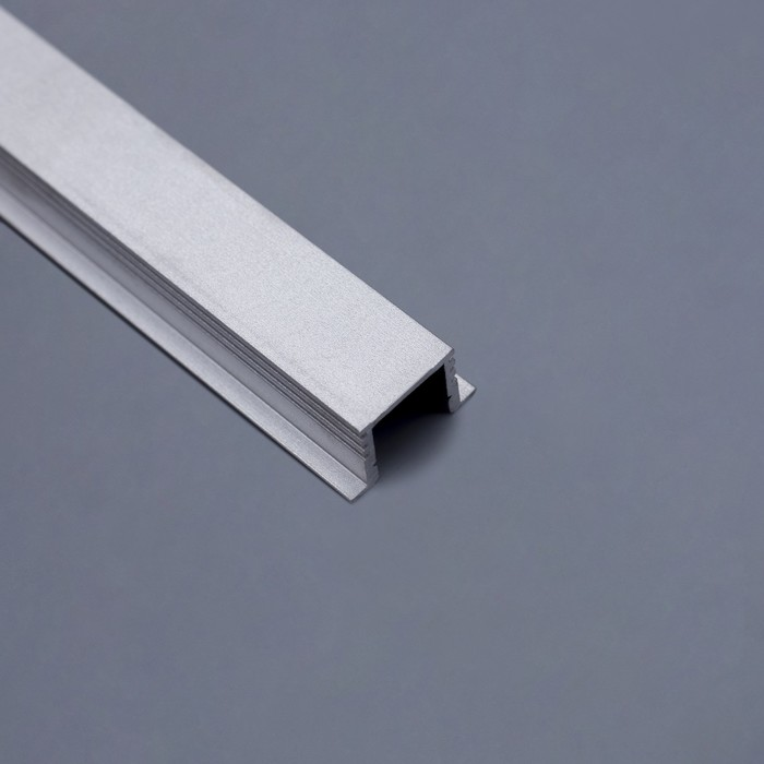 Профиль врезной алюминиевый REXANT, 2 м, 146-221