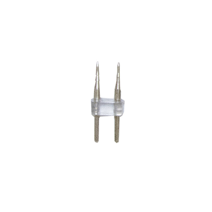 Игольчатый коннектор 09-44, для одноцветного двустороннего светодиодного неона 8,5х18,5мм