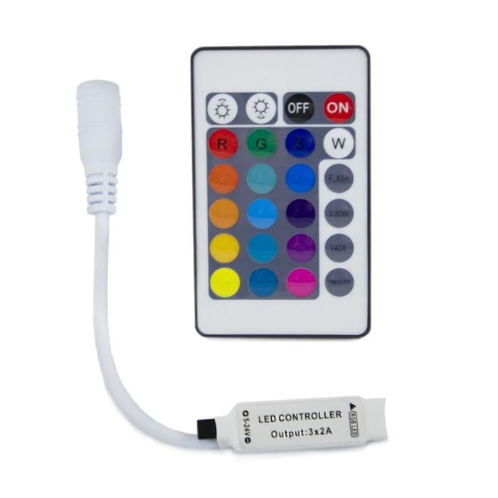 Мини-контроллер RGB 04-15, 12В, 72 Вт, IR