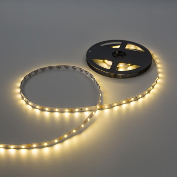 Комплект светодиодной ленты  Luazon Lighting, 3м, 60SMD-2835/м, 6Вт/м, IP20, 12V, Т.БЕЛЫЙ