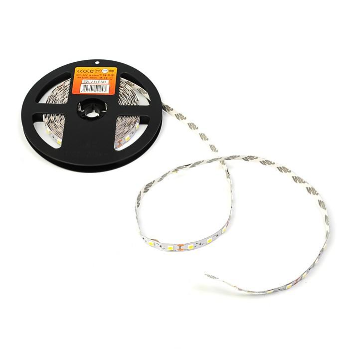 Светодиодная лента Ecola LED strip STD, 10 мм, 12 В, 4200 К, 14.4 Вт, 60 Led/м, IP20, 5 м
