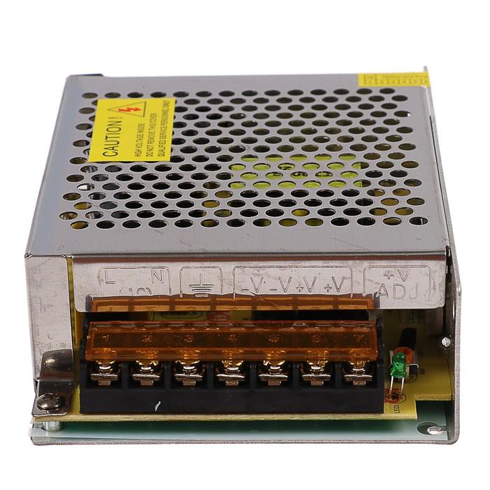 Блок питания Ecola для светодиодной ленты, 120 Вт, 220-12 В, IP20