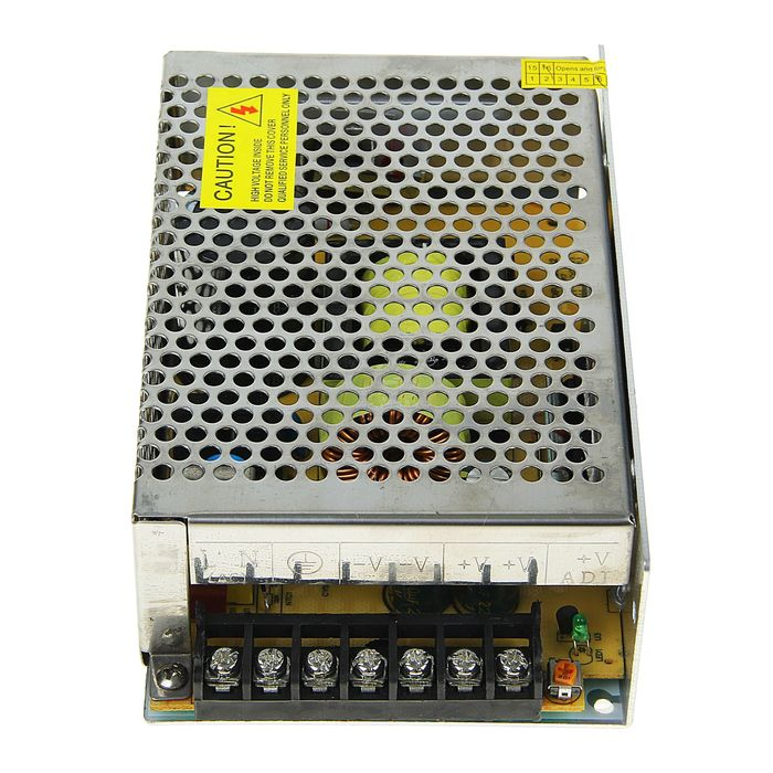 Блок питания Ecola для светодиодной ленты, 200 Вт, 220-12 В, IP20