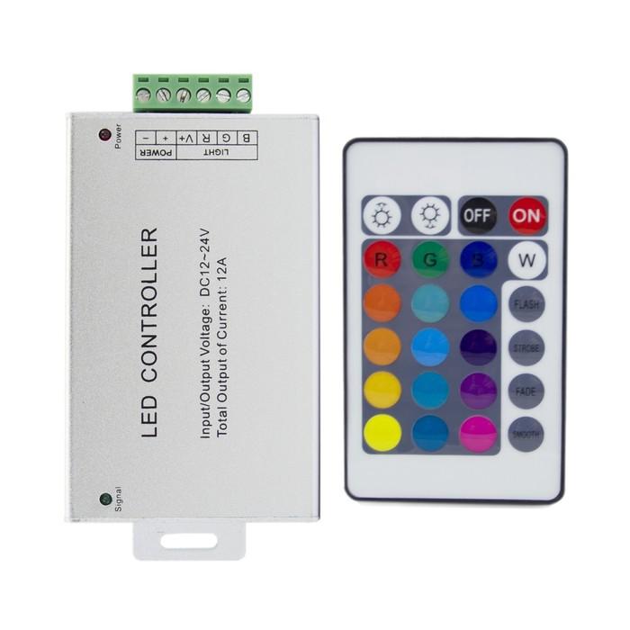Контроллер RGB 04-02, 12В, 216 Вт, 3х6 А