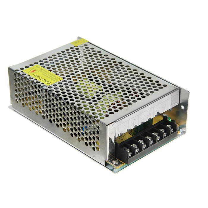 Блок питания Ecola для светодиодной ленты, 250 Вт, 220-12 В, IP20
