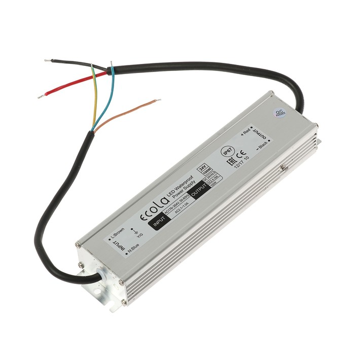 Блок питания для светодиодной ленты Ecola, 100 Вт, 220-24 В , IP67