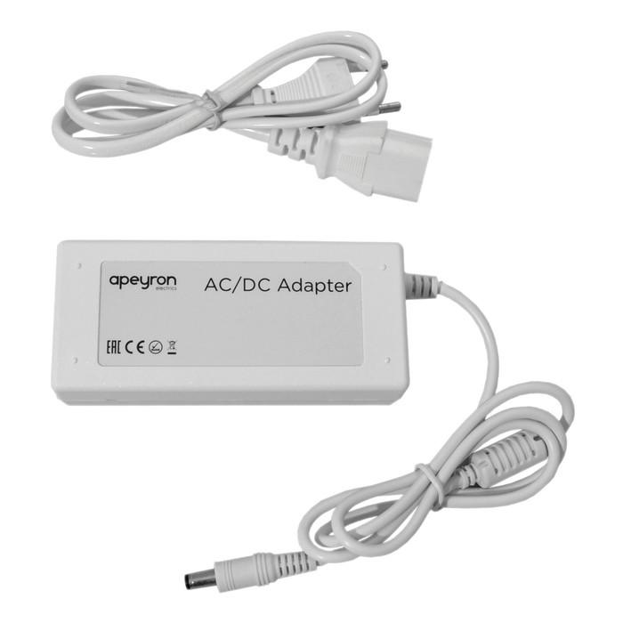 Адаптер сетевой 03-60, 24В, 72Вт, IP44, 3A, DC(папа) 5,5x2,5мм
