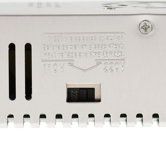 Блок питания для светодиодной ленты Ecola, 400 Вт, 220-24 В , IP20