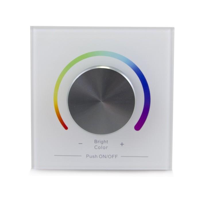 Контроллер встраиваемый RGB 04-14, 12В/24В, 144Вт/288 Вт, 12 А