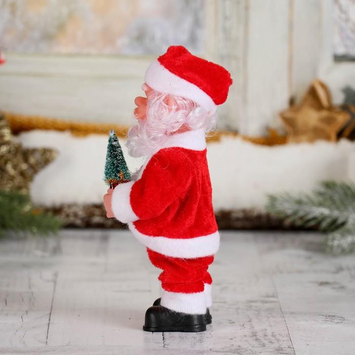 Дед Мороз, с ёлкой и подарками, без музыки