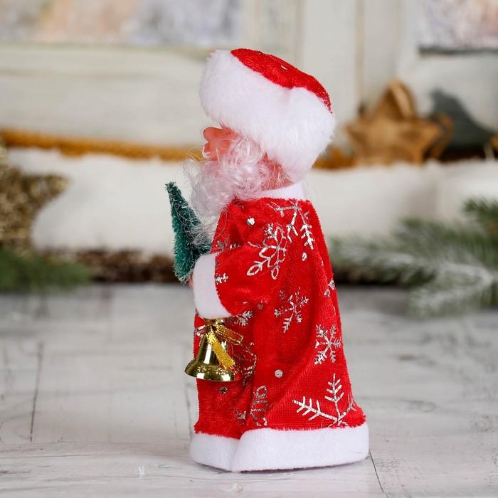 Дед Мороз, в длинной шубе, с ёлкой, микс, без музыки