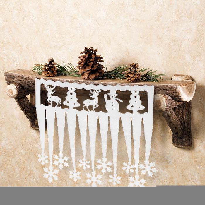 """Декор сосульки """"Новый год"""" набор 2 штуки"""