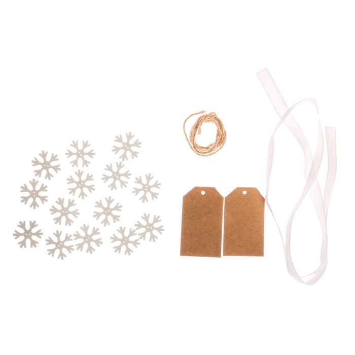 Мешки для подарков «Морозный вечер», набор для шитья, 16,3 × 10,7 × 2,5 см