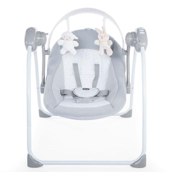 Кресло-качалка Chicco Relax & Play Cool (Grey)