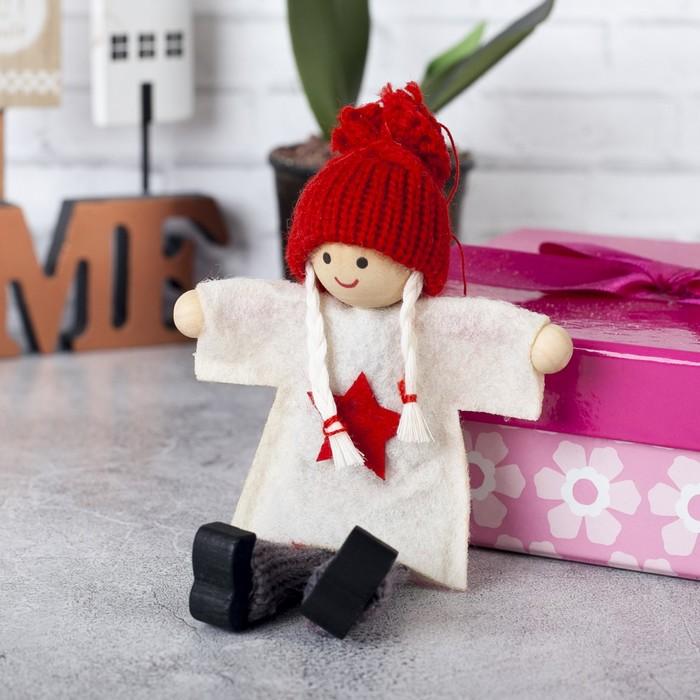 "Игрушка - подвеска ""Кукла - Маша"", МИКС"