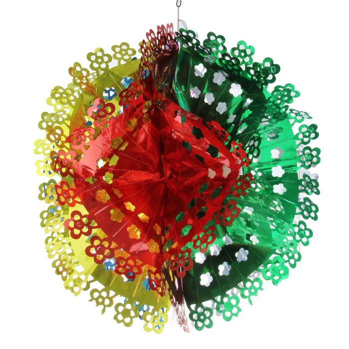 """Новогоднее украшение """"Цветок"""""""