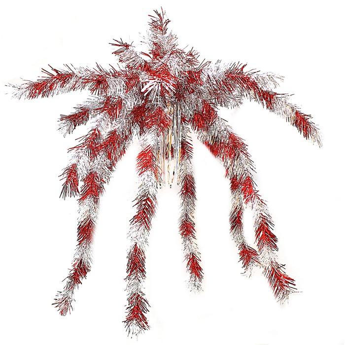 """Пальма из мишуры большая """"Полосатая"""" микс"""
