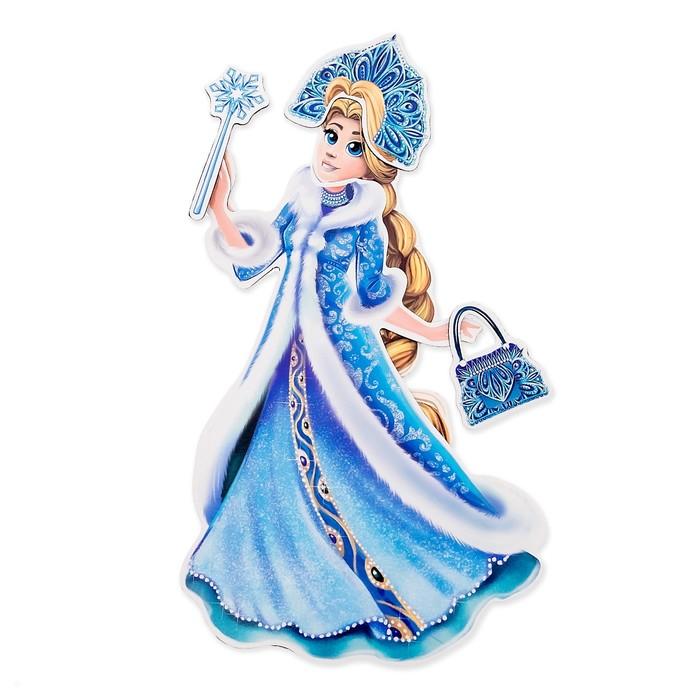 Магнитная кукла «Зимняя царевна»