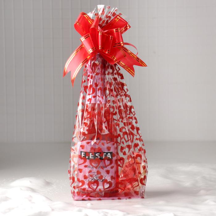 Набор «Новогодний» (Гель для душа Fiesta Rose, 500 мл + Твердый крем, 20 мл)
