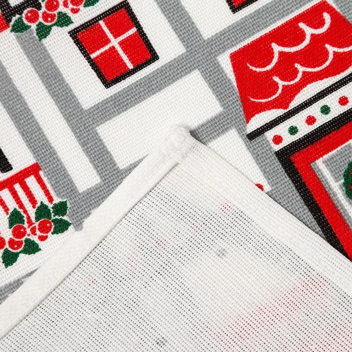"""Набор подарочный """"Чудес в новом году"""" полотенце 64х40см, прихватка 16х18см, силикон.форма 14   44509"""