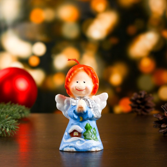 "Свеча ""Новогодний ангелок"" средняя"
