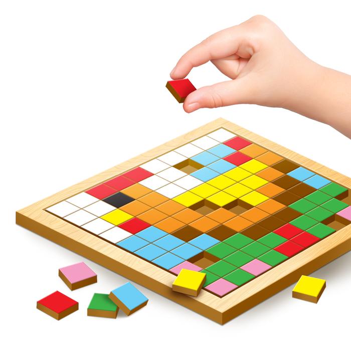 """Мозаика пикселями """"Животные"""""""