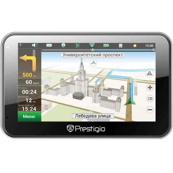 GPS навигатор Prestigio GeoVision 5566BTFMHD