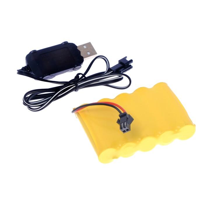 Машина радиоуправляемая «Амфибия», работает от аккумулятора