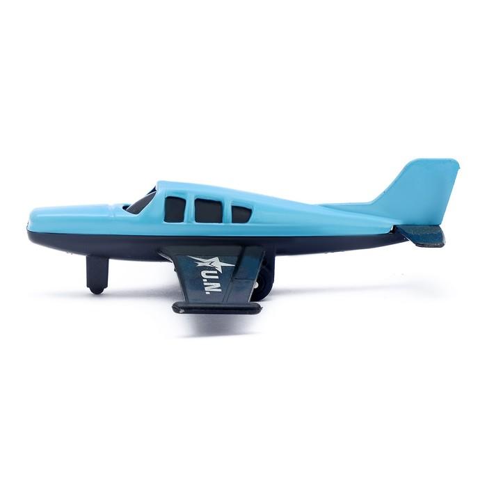 Самолёт металлический, цвета МИКС
