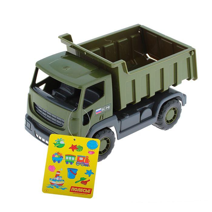 Автомобиль-самосвал военный «Агат»