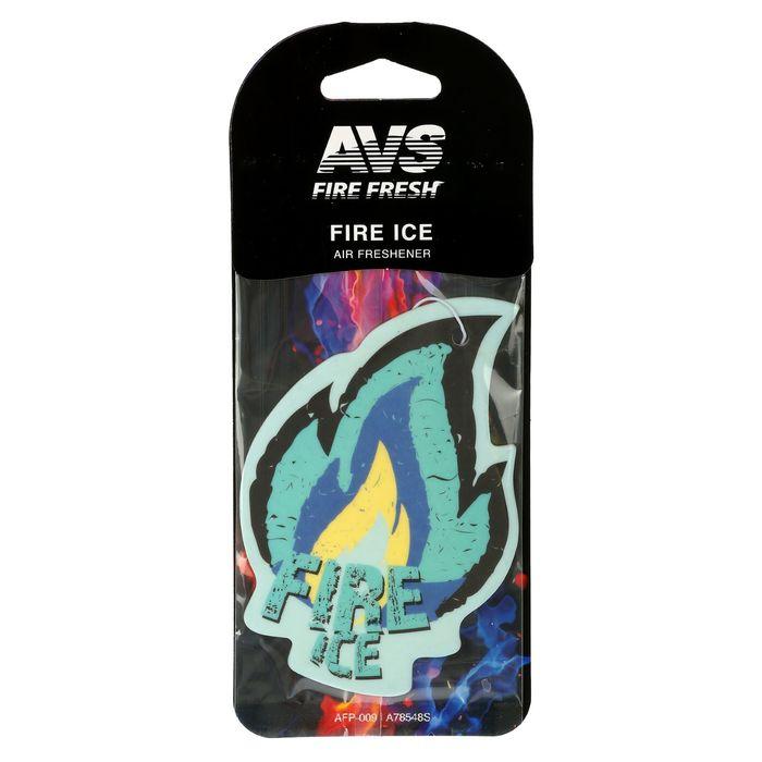 Ароматизатор AVS AFP-009 Fire Fresh, огненный лёд, бумажные