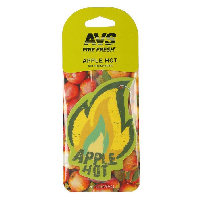 Ароматизатор AVS AFP-010 Fire Fresh, яблоко, бумажные