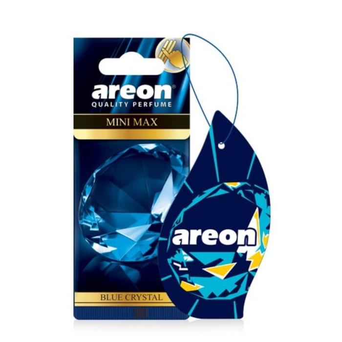 Ароматизатор на зеркало Areon Mini Max Blue Crystal