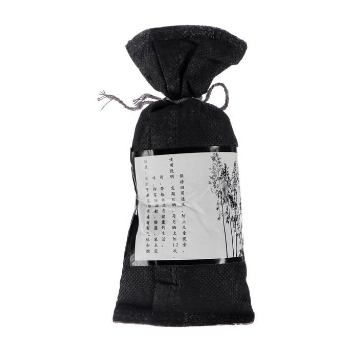 Ароматизатор-поглотитель запахов, в мешочке, бамбуковый уголь