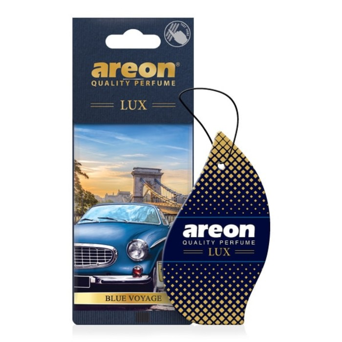 Ароматизатор на зеркало Areon Lux Blue Voyage