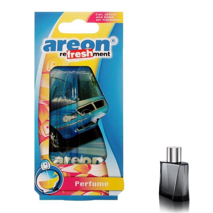 Ароматизатор на зеркало Areon Refreshment гелевый парфюм