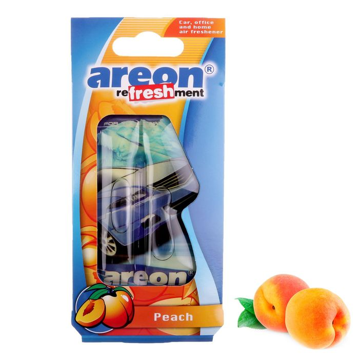Ароматизатор Areon REFRESHMENT LIQUID, персик