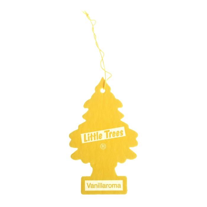 Ароматизатор Ёлочка Little Trees Аромат ванили , Vanillaroma