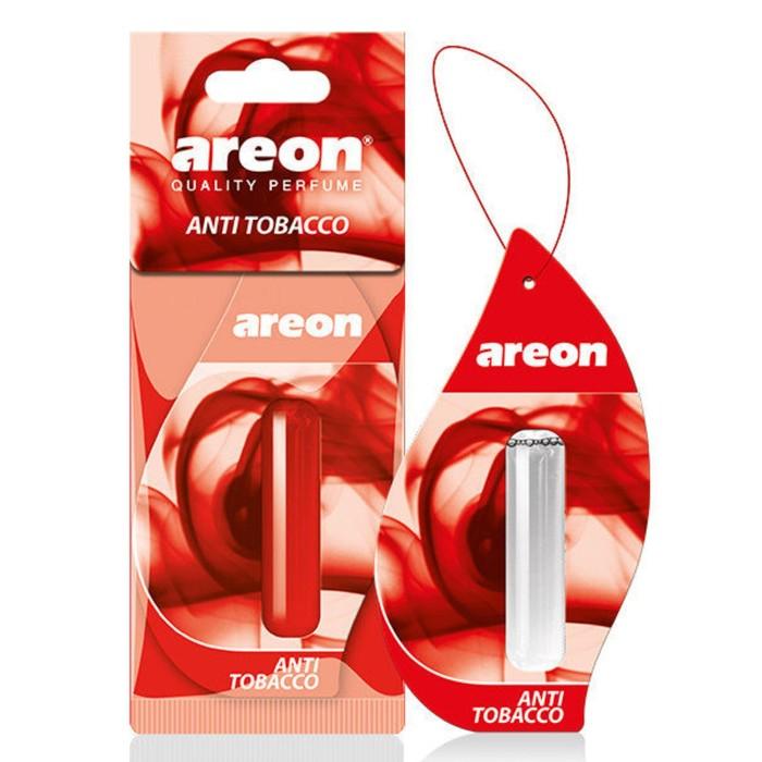 Ароматизатор на зеркало Areon Liquid жидкий антитабак, 5 мл