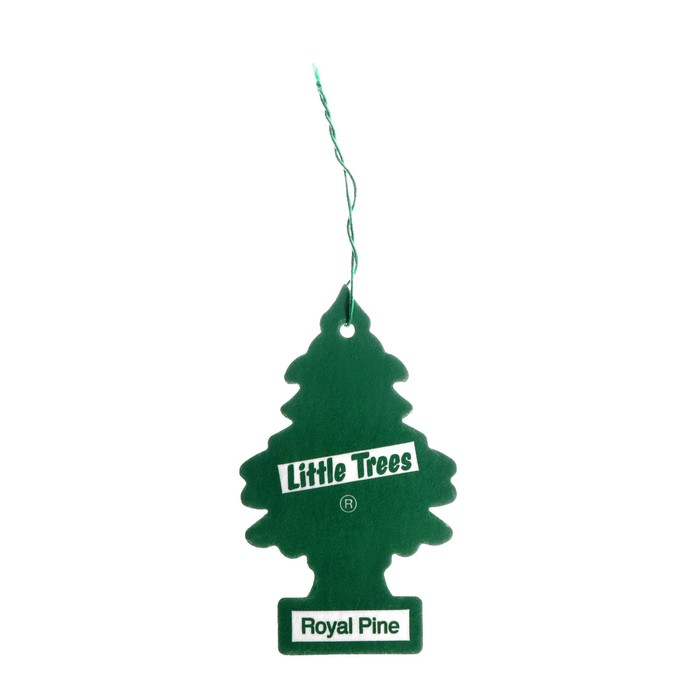 Ароматизатор Ёлочка Little Trees Королевская сосна, Royal Pine