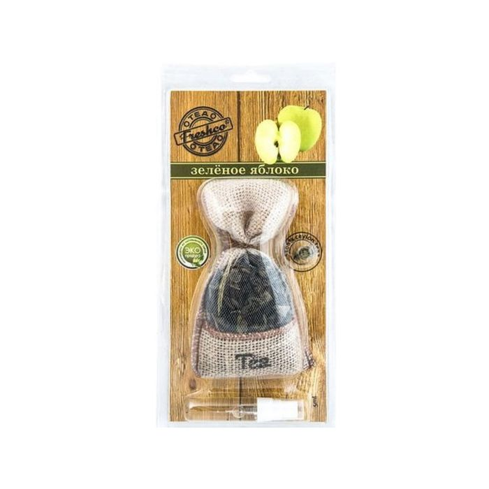 """Ароматизатор подвесной мешочек """"Freshсo Tea"""" Зеленое яблоко"""