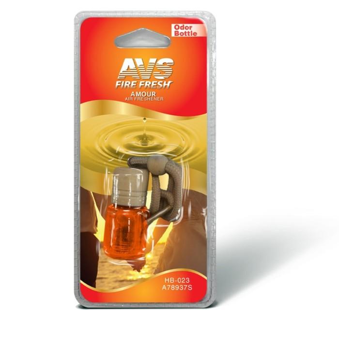 "Ароматизатор AVS Odor Bottle, на зеркало, ""тайные чувства"", бутылочка"