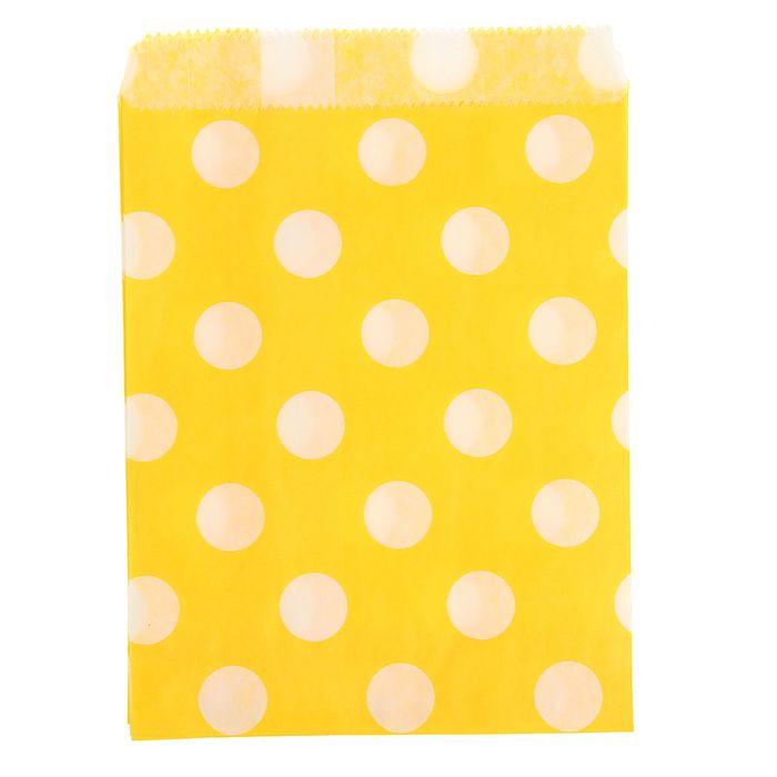 """Пакет фасовочный """"Горох"""", цвет жёлтый, 13 х 18 см"""