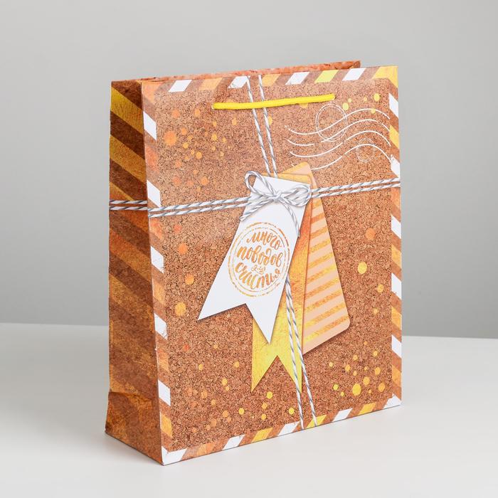 Пакет ламинированный вертикальный «Подарков много не бывает», MS 18 × 23 × 8 см