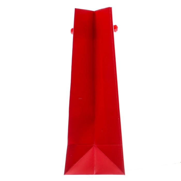 Пакет ламинированный вертикальный «Теплые объятья», 12 × 15 × 5,5 см