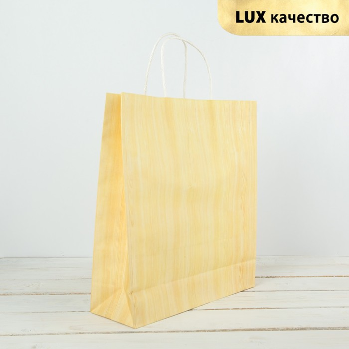 Пакет крафт, люкс, 29 х 10 х 32 см