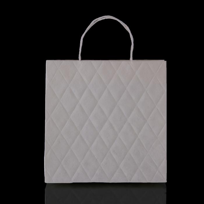 """Пакет подарочный """"Париж"""", белый, 10 х 28 х 28 см"""